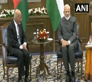 SCO Summit Narendra Modi meets Ashraf Ghani in Bishkek assures Afghanistan president of Indias support in conducting elections