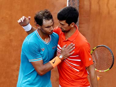 Roger Federers the best but Novak Djokovic remains Rafael Nadals most difficult opponent says excoach Toni