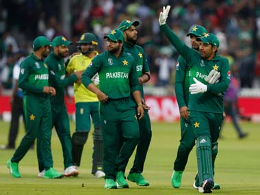 File picture of Pakistan team. AP