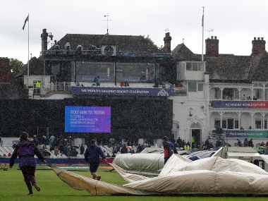 The India versus New Zealand fixture turned out to be the fourth game to be washed out in the current tournament. AP