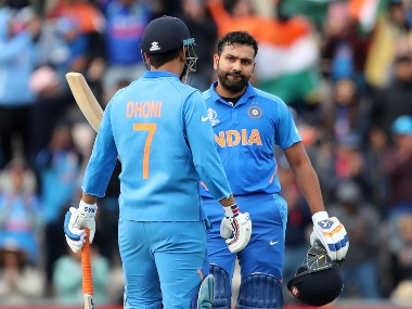 Rohit Sharma slammed an unbeaten 122 as India registered a six-wicket win over South Africa. AP