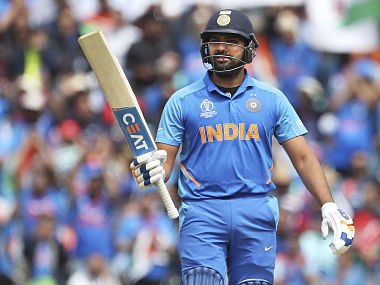 Rohit Sharma only the fourth batsman in the world who has more than 2,000 runs to their credit against Australia. AP