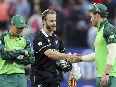 South Africa lost to New Zealand on Wednesday. AP