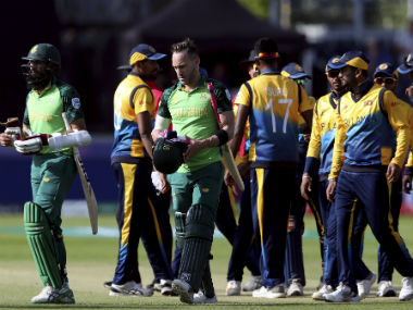 Sri Lanka lost to South Africa by 9 wickets on Friday. AP