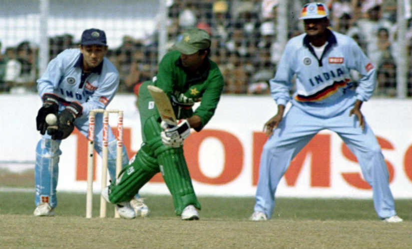 Saeed Anwar turns up against India, again. Reuters