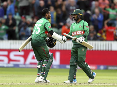 Shakib Al Hasan and Liton Das added 189 runs in an unbroken stand to guide Bangladesh to victory. AP