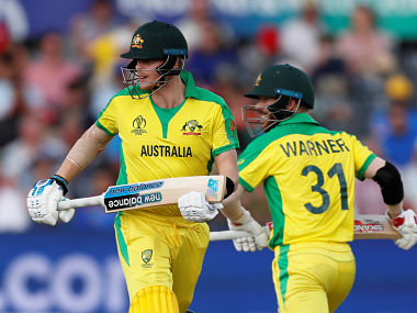 Smith and Warner will face England in their World Cup match at Lord's on 25 June. Reuters