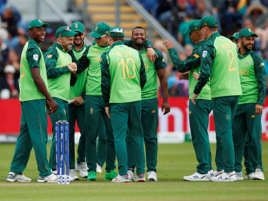 South Africa will now face New Zealand on 19 June. Reuters