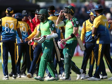 South Africa defeated Sri Lanka by nine wickets in World Cup 2019. AP