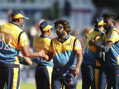 Sri Lanka sported their alternate jersey for the fixture against England, which they won by 20 runs to keep their semi-final hopes alive. AP