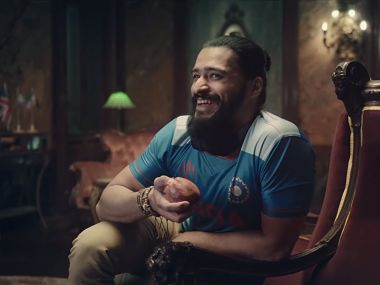 Screengrab of the Star Sports ad.