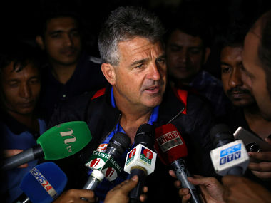 File image of Bangladesh coach Steve Rhodes. Reuters
