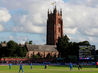 File image of The County Club at Taunton. Reuters