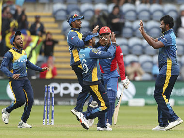 Sri Lanka have not played a match at the World Cup since 4 June. AP