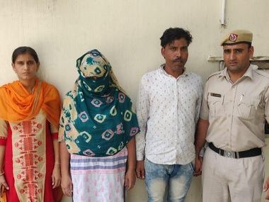 Haryana Police arrests gangsters wife servant in Faridabad in connection with Congress leader Vikas Chaudharys murder