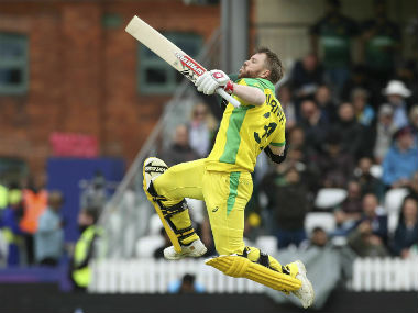 David Warner was adjudged Man of the Match for his ton against Pakistan. AP
