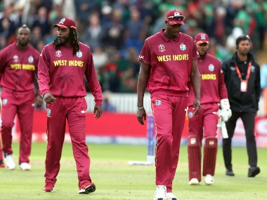 With one win from seven games in the World Cup, West Indies fall out of the race of semi-finals. AP