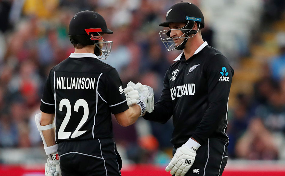 In reply, New Zealand were struggling at 137/5 but then Williamson and Colin de Grandhomme got together and added 91 runs for the 7th wicket to turn it around for the Kiwis. Reuters