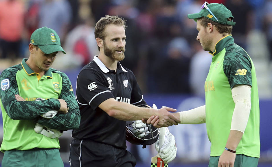 The match went down the wire and with 7 needed off5 balls, Williamson hit a six to bring up his ton and then a four to finish off the match in style. Reuters