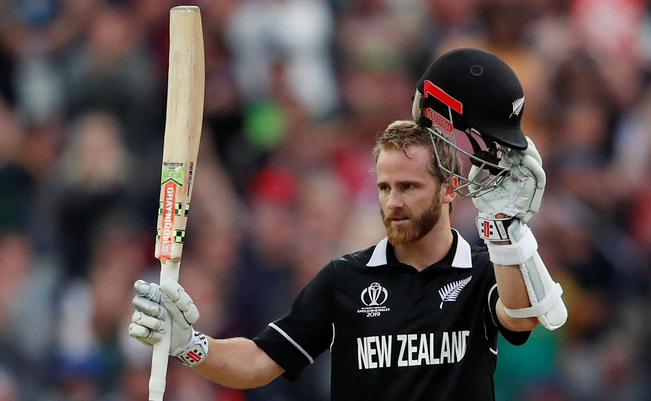 Captain Kane Williamson hit a patient 138-ball 106 to help the Kiwis edge South Africa in thriller in Edgbaston. AP