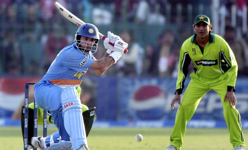 In 15 ODIs in Pakistan, Yuvraj belted 642 runs at an average 64.20. AFP