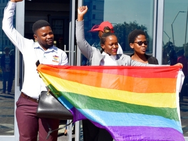 Botswana HC decriminalises homosexuality overturns colonialera law punishing gay sex up to seven years in prison