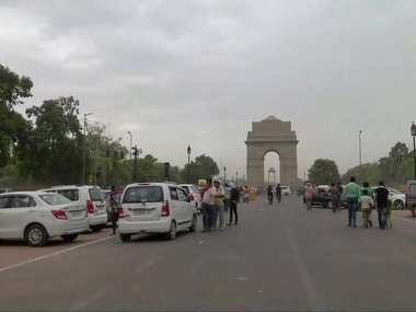 Delhi witnesses sudden change in weather as light rains lower temperature MeT dept forecasts thunderstorm dust storm today