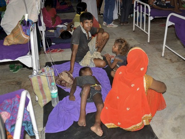 Encephalitis fever in Bihar Toll rises to 136 with 117 deaths reported from Muzaffarpur alone 626 cases registered across state