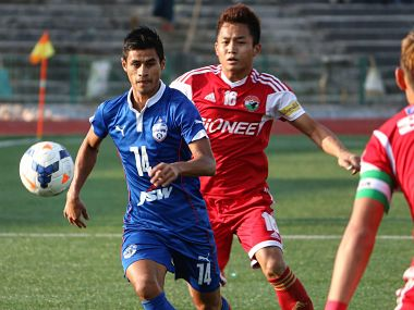 ISL 201920 Eugeneson Lyngdoh returns to Bengaluru FC on oneyear contract midfielder says he will fight for titles once again