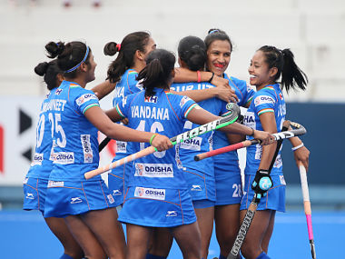 Womens FIH Series Finals India secure place in Olympics qualifiers final round after 42 win over Chile