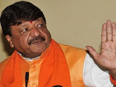 Kailash Vijayvargiya nearly 350 other BJP workers booked in Indore after video of him threatening officials goes viral