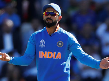 Virat Kohli has been fined for excessive appealing in the 29th over of India's win against Afghanistan in Southampton. (Reuters)