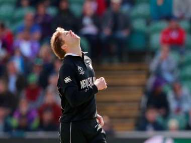 Lockie Ferguson missed New Zealand's last league game due to a hamstring strain. Reuters