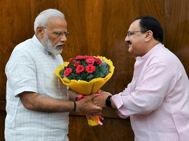 JP Nadda appointed BJP president Trusted ModiShah lieutenant and ace strategist takes over party reins at critical juncture