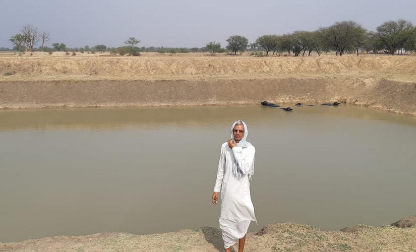 Farmers in Uttar Pradeshs Banda change cropping patterns restore ponds to make profits despite persistent drought