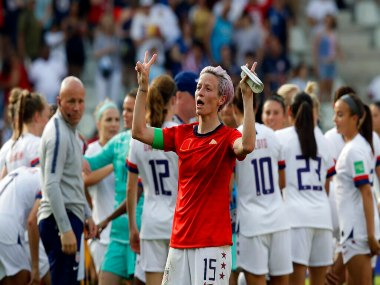 FIFA Womens World Cup 2019 President Donald Trump accuses US player Megan Rapinoe of disrespect