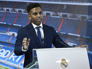 Real Madrid signing Rodrygo ready to wait for his chance at Los Blancos identifies with Neymar Robinho