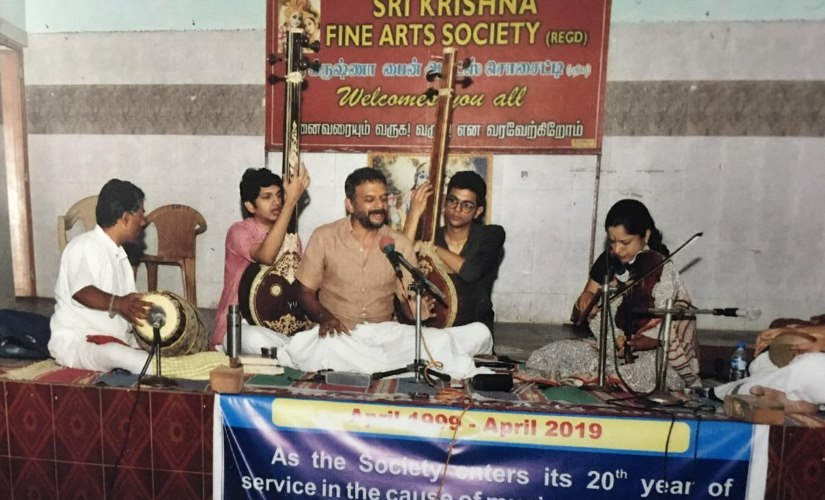 TM Krishna on the importance of small sabhas in sustaining Carnatic music performing pro bono