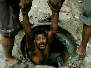 801 sanitation workers died cleaning sewers in country since 1993 National Commission for Safai Karamcharis