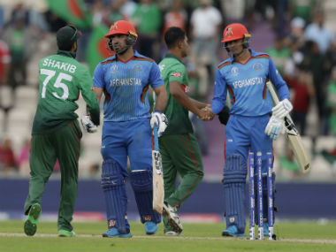 Shakib's all-round show has been the highlight of this World Cup. AP