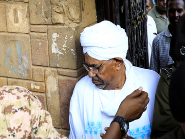 Sudan protests Ousted president Omaral Bashir makes first public appearance since April after being charged with corruption