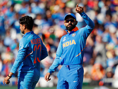Virat Kohli's (right) trouble with India's No 4 and 5 does not seem to be ending. Reuters