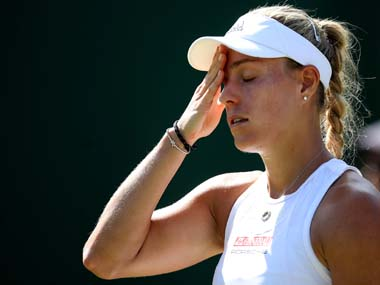 Adelaide International Former Australian Openwinner Angelique Kerber retires from match with lower back injury
