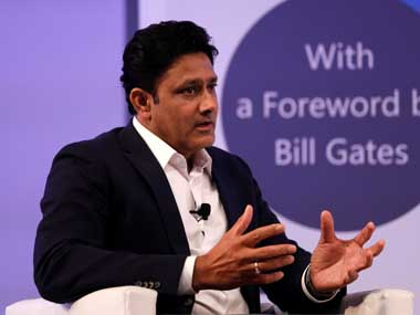 File image of Anil Kumble. Reuters