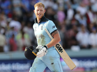 Ben Stokes struck an unbeaten 84 before collecting vital runs in the Super Over in the World Cup final against New Zealand. AP