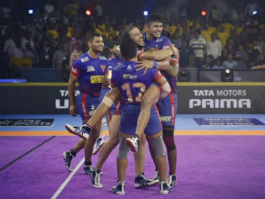 Pro Kabaddi 2019 Highlights Dabang Delhi vs Haryana Steelers at Mumbai Delhi ease to landslide victory