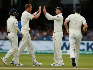 England bundled out Ireland for just 38 runs in second innings to win the Lord's Test by 143 runs. Reuters