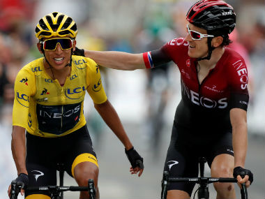 Tour de France 2019 Egan Bernal set to become youngest champion after defending overnight lead in penultimate stage