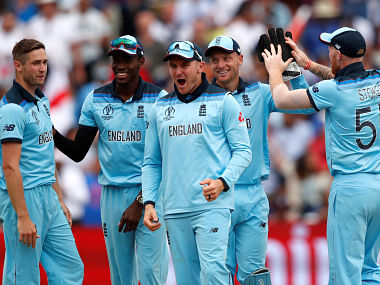 England gained a measure of revenge with a 119-run thrashing of New Zealand in a group-stage match. Reuters