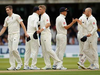England's squad celebrates after their victory against Ireland. Reuters